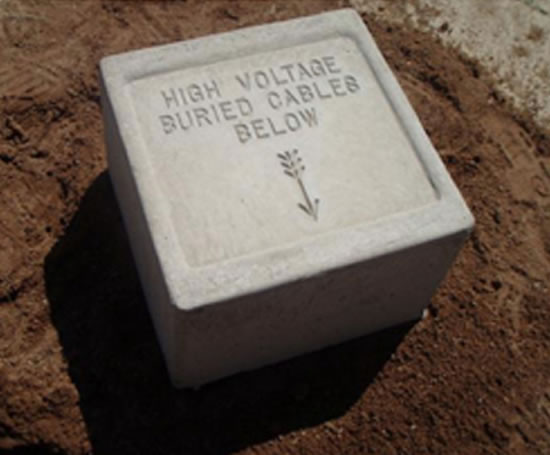 Elite_Precast_Concrete_Ltd_Cable_marker_blocks_1